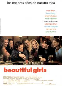 Beautiful Girls - 11 x 17 Movie Poster - Spanish Style A