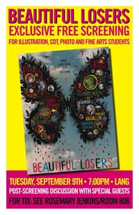 Beautiful Losers - 11 x 17 Movie Poster - Style B