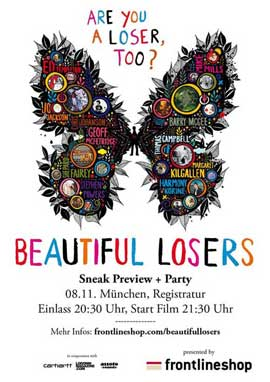 Beautiful Losers - 11 x 17 Movie Poster - German Style A