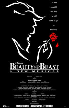 Beauty and The Beast (Broadway) - 14 x 22 Poster - Style A