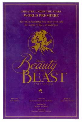 Beauty and The Beast (Broadway) - 11 x 17 Poster - Style B