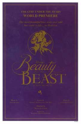 Beauty and The Beast (Broadway) - 14 x 22 Poster - Style B