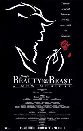Beauty and The Beast (Broadway) - 27 x 40 Poster - Style A