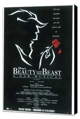 Beauty and The Beast (Broadway) - 11 x 17 Poster - Style A - Museum Wrapped Canvas