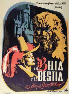 Beauty and the Beast - 11 x 17 Poster - Foreign - Style D