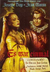 Beauty and the Beast - 11 x 17 Movie Poster - German Style A
