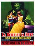 Beauty and the Beast - 27 x 40 Movie Poster - Belgian Style A