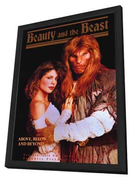 Beauty and the Beast (TV) - 27 x 40 TV Poster - Style A - in Deluxe Wood Frame