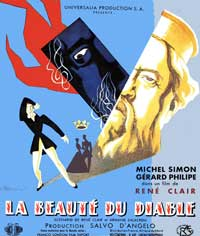 Beauty and the Devil - 11 x 14 Poster French Style A
