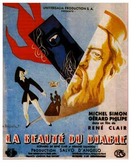 Beauty and the Devil - 11 x 17 Movie Poster - French Style A