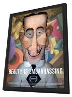 Beauty is Embarrassing - 11 x 17 Movie Poster - Style A - in Deluxe Wood Frame