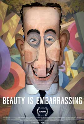 Beauty is Embarrassing - 43 x 62 Movie Poster - Bus Shelter Style A