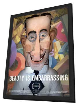 Beauty is Embarrassing - 27 x 40 Movie Poster - Style A - in Deluxe Wood Frame