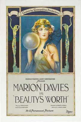 Beauty's Worth - 11 x 17 Movie Poster - Style A