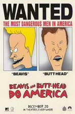 Beavis and Butt-Head Do America - 11 x 17 Movie Poster - Style C
