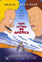 Beavis and Butt-Head Do America - 27 x 40 Movie Poster - Style A