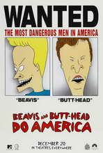 Beavis and Butt-Head Do America - 27 x 40 Movie Poster - Style B
