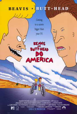 Beavis and Butt-Head Do America - 11 x 17 Movie Poster - Style A
