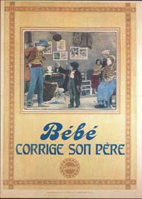 Bebe corrige son pere - 11 x 17 Movie Poster - French Style A