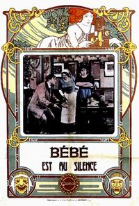 Bebe est au silence - 11 x 17 Movie Poster - French Style A