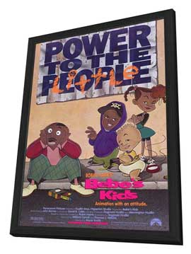 Bebe's Kids - 27 x 40 Movie Poster - Style A - in Deluxe Wood Frame