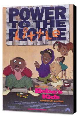 Bebe's Kids - 27 x 40 Movie Poster - Style A - Museum Wrapped Canvas