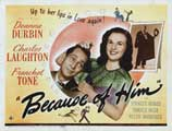 Because of Him - 22 x 28 Movie Poster - Half Sheet Style A