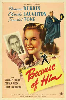 Because of Him - 27 x 40 Movie Poster - Style A