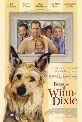 Because of Winn Dixie - 27 x 40 Movie Poster - Style B