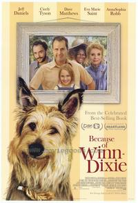 Because of Winn Dixie - 43 x 62 Movie Poster - Bus Shelter Style A