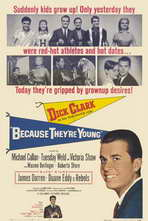 Because They're Young - 11 x 17 Movie Poster - Style A