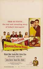Because They're Young - 11 x 17 Movie Poster - Style B