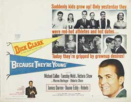 Because They're Young - 11 x 14 Movie Poster - Style A