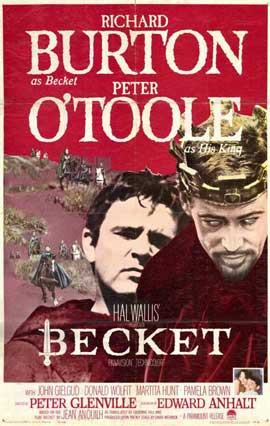 Becket - 11 x 17 Movie Poster - Style B