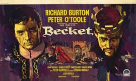 Becket - 11 x 17 Movie Poster - Belgian Style A