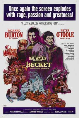 Becket - 27 x 40 Movie Poster - Style C