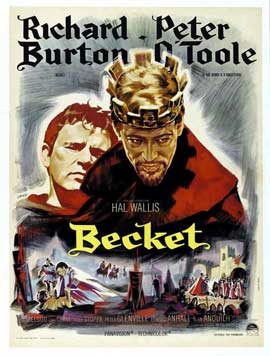 Becket - 11 x 17 Movie Poster - French Style A