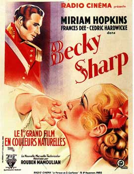 Becky Sharp - 11 x 17 Movie Poster - French Style A