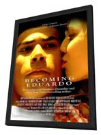 Becoming Eduardo - 27 x 40 Movie Poster - Style A - in Deluxe Wood Frame