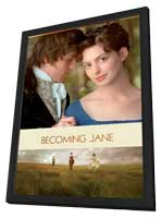 Becoming Jane - 27 x 40 Movie Poster - Style C - in Deluxe Wood Frame