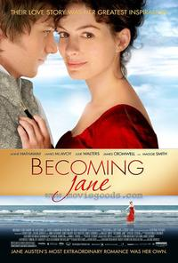 Becoming Jane - 43 x 62 Movie Poster - Bus Shelter Style A