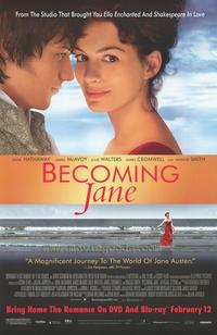 Becoming Jane - 43 x 62 Movie Poster - Bus Shelter Style B