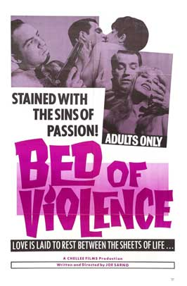 Bed of Violence - 11 x 17 Movie Poster - Style A