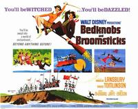 Bedknobs and Broomsticks - 11 x 14 Movie Poster - Style B