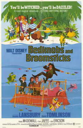 Bedknobs and Broomsticks - 11 x 17 Movie Poster - Style A