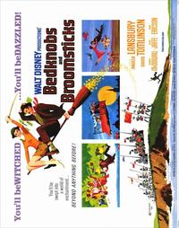 Bedknobs and Broomsticks - 22 x 28 Movie Poster - Half Sheet Style A