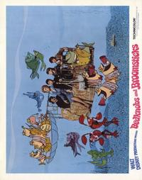 Bedknobs and Broomsticks - 22 x 28 Movie Poster - Half Sheet Style B