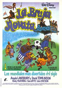 Bedknobs and Broomsticks - 11 x 17 Movie Poster - Spanish Style A