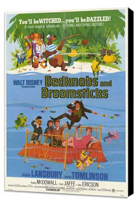 Bedknobs and Broomsticks - 11 x 17 Movie Poster - Style A - Museum Wrapped Canvas