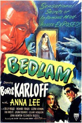 Bedlam - 11 x 17 Movie Poster - Style A